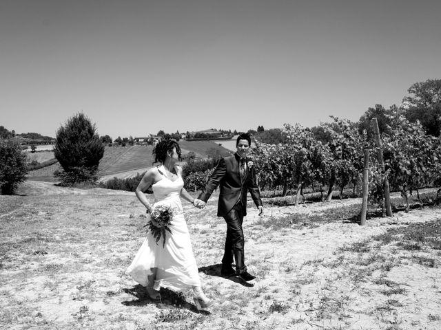 Il matrimonio di Rita e Cristina a Cereseto, Alessandria 57