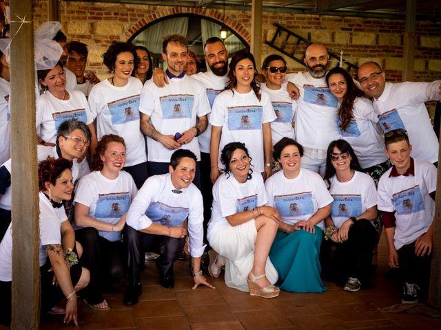 Il matrimonio di Rita e Cristina a Cereseto, Alessandria 69