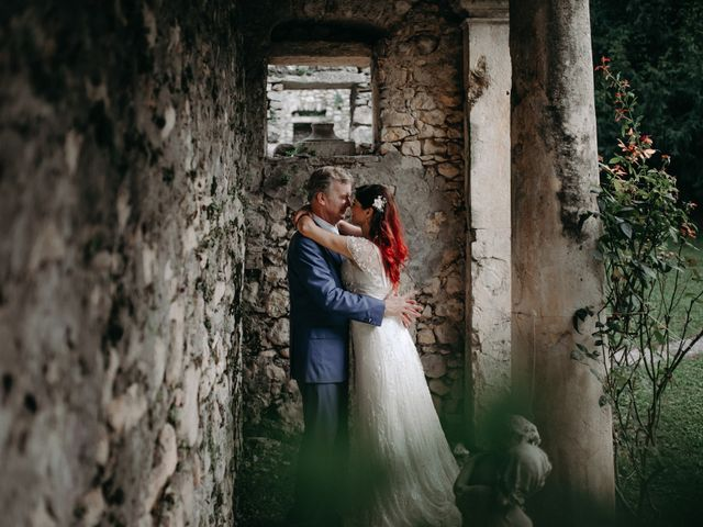 Le nozze di Almudena e Peter