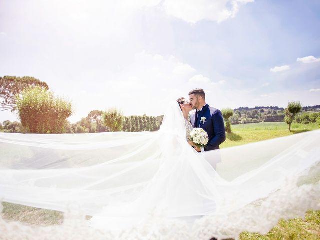 le nozze di Marika e Fabio