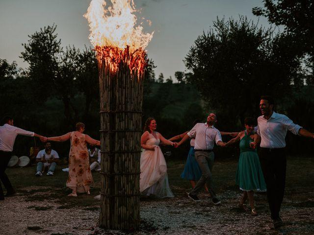 Il matrimonio di Thor e Jessica a Fara Filiorum Petri, Chieti 94
