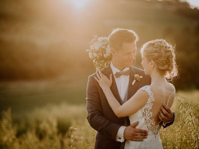 Le nozze di Jennifer e Stefan