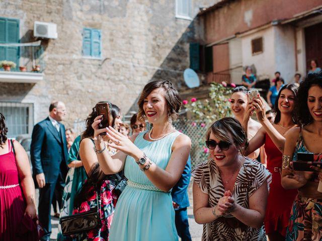 Il matrimonio di Giacomo e Chiara a Vetralla, Viterbo 16