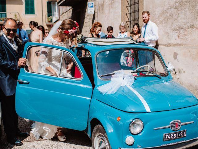 Il matrimonio di Giacomo e Chiara a Vetralla, Viterbo 18