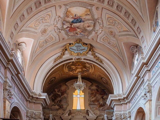 Il matrimonio di Giacomo e Chiara a Vetralla, Viterbo 24