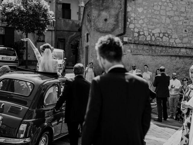 Il matrimonio di Giacomo e Chiara a Vetralla, Viterbo 27
