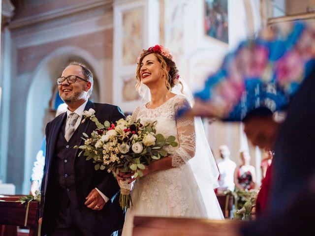 Il matrimonio di Giacomo e Chiara a Vetralla, Viterbo 33