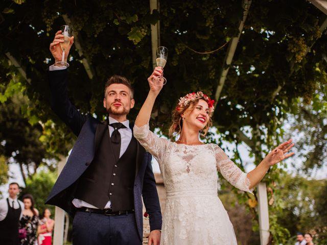 Il matrimonio di Giacomo e Chiara a Vetralla, Viterbo 100