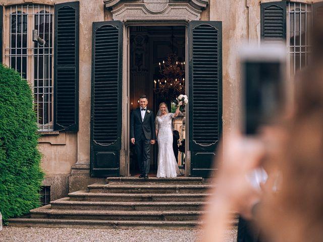 Il matrimonio di Alessandro e Chiara a Inverigo, Como 29
