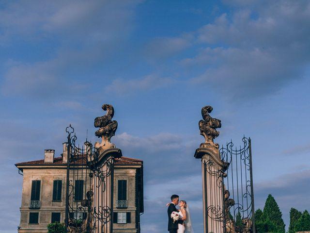 Il matrimonio di Alessandro e Chiara a Inverigo, Como 35