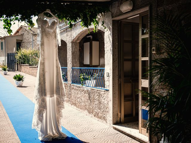 Il matrimonio di Francesco e Jessica a Fabrica di Roma, Viterbo 2