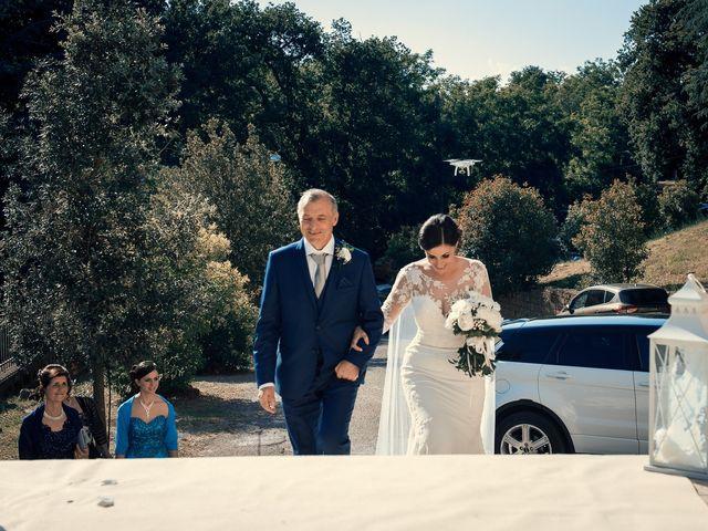 Il matrimonio di Francesco e Jessica a Fabrica di Roma, Viterbo 8