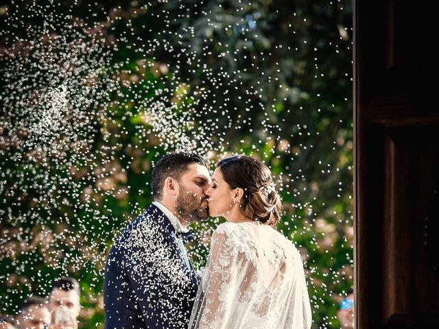 Il matrimonio di Francesco e Jessica a Fabrica di Roma, Viterbo 10
