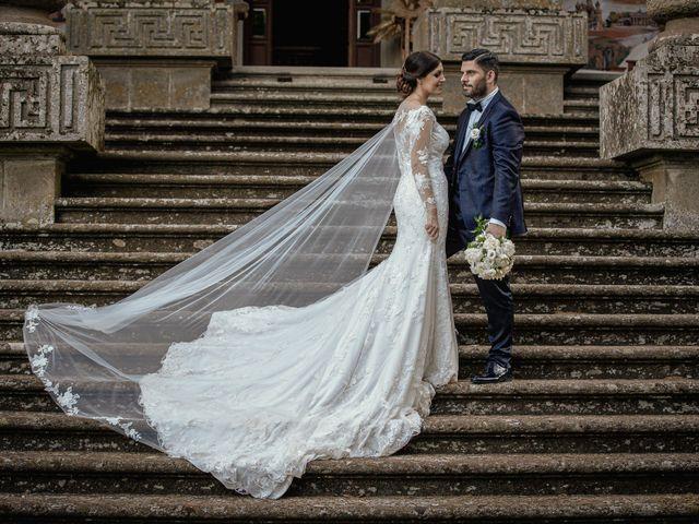 Il matrimonio di Francesco e Jessica a Fabrica di Roma, Viterbo 12
