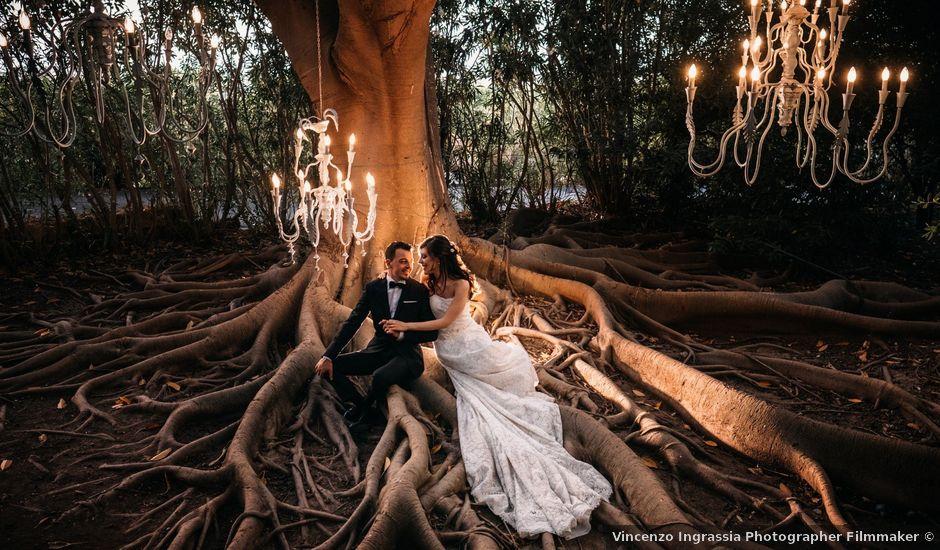 Il matrimonio di Filippo e Angela a Agira, Enna