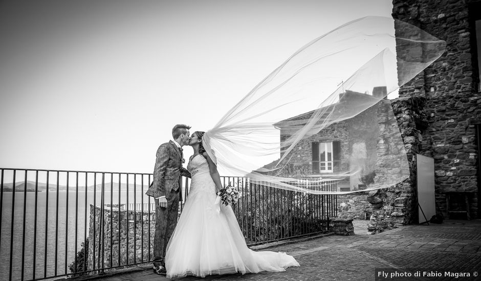 Il matrimonio di Rosario e Michela a Passignano sul Trasimeno, Perugia
