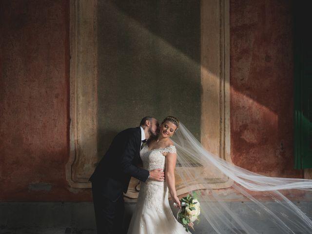 le nozze di Dina e Stefano