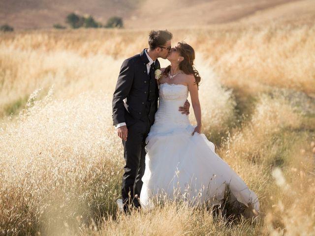 le nozze di Nieves e Stefan