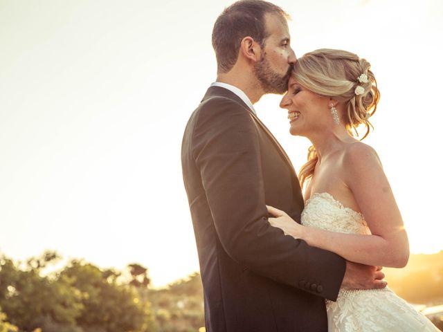 le nozze di Monica e Alberto