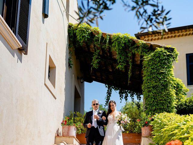 Il matrimonio di Marco e Greta a Capaccio Paestum, Salerno 17