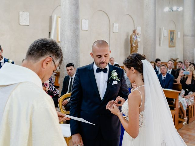 Il matrimonio di Marco e Greta a Capaccio Paestum, Salerno 23
