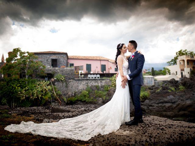 Il matrimonio di Roberto e Claudia a Fiumedinisi, Messina 35