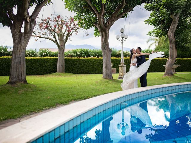 Il matrimonio di Roberto e Claudia a Fiumedinisi, Messina 42