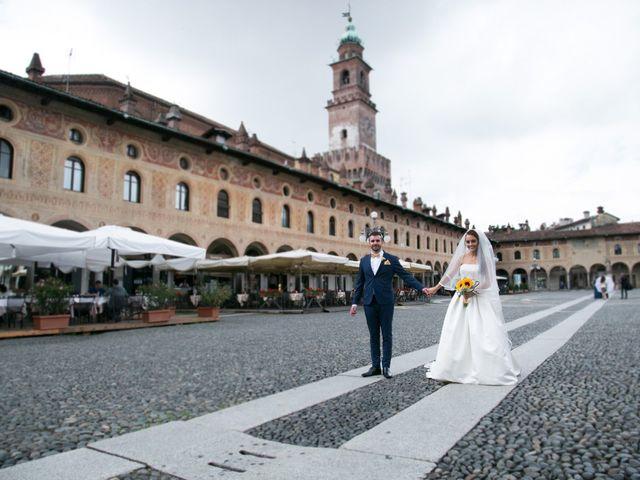 Il matrimonio di Luca e Giulia a Vigevano, Pavia 27