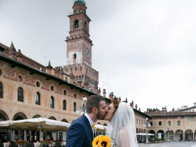 Il matrimonio di Luca e Giulia a Vigevano, Pavia 29