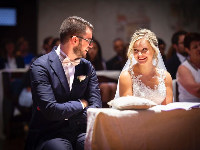 le nozze di Jennifer e Mattia