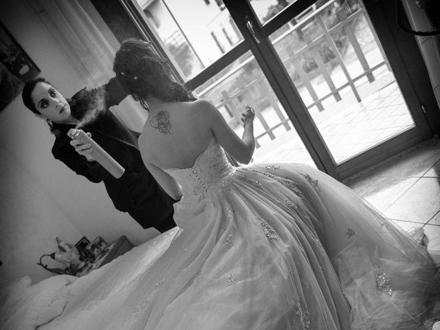 Il matrimonio di Salvatore e Daniela a Castelnovo di Sotto, Reggio Emilia 9