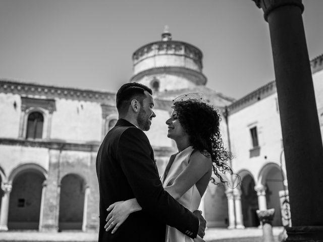 Il matrimonio di Giuseppe e Stephany a Montescaglioso, Matera 10
