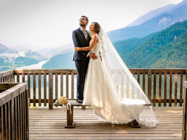 Il matrimonio di Nicola e Ilaria a Domegge di Cadore, Belluno 34