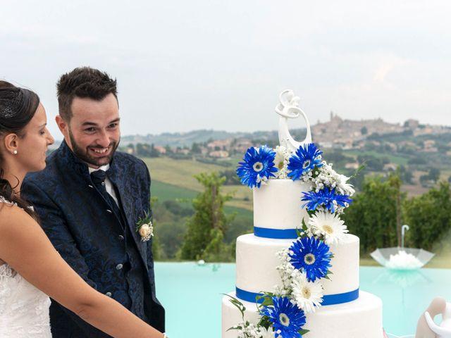 Il matrimonio di Diego e Sofia a Cupramontana, Ancona 80