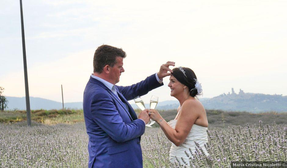 Il matrimonio di Mark e Posy a Siena, Siena