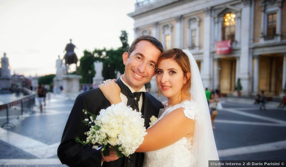 Il matrimonio di Piero e Martina a Roma, Roma