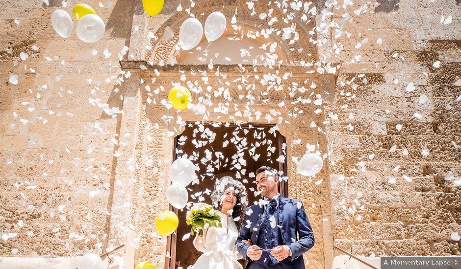 Il matrimonio di Giuseppe e Stephany a Montescaglioso, Matera