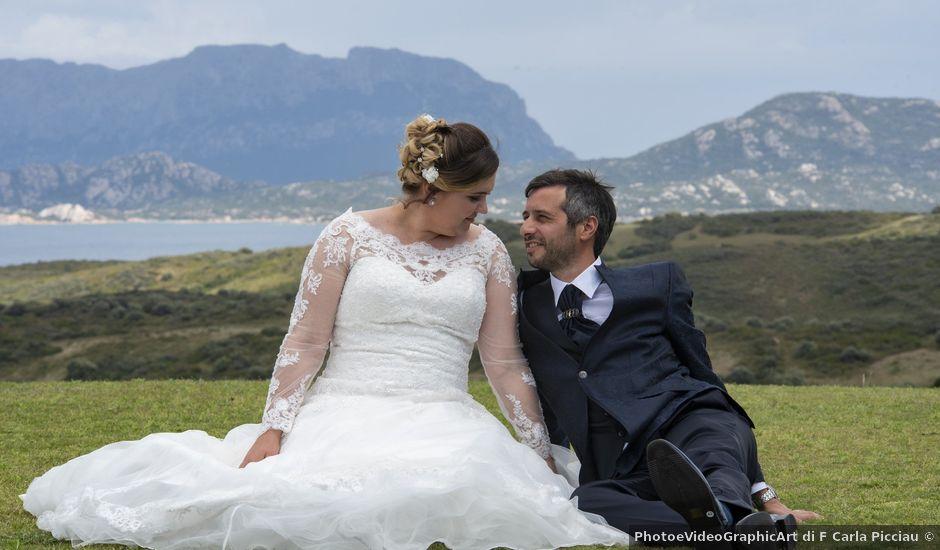 Il matrimonio di Massimo e Cosmina a Olbia, Sassari