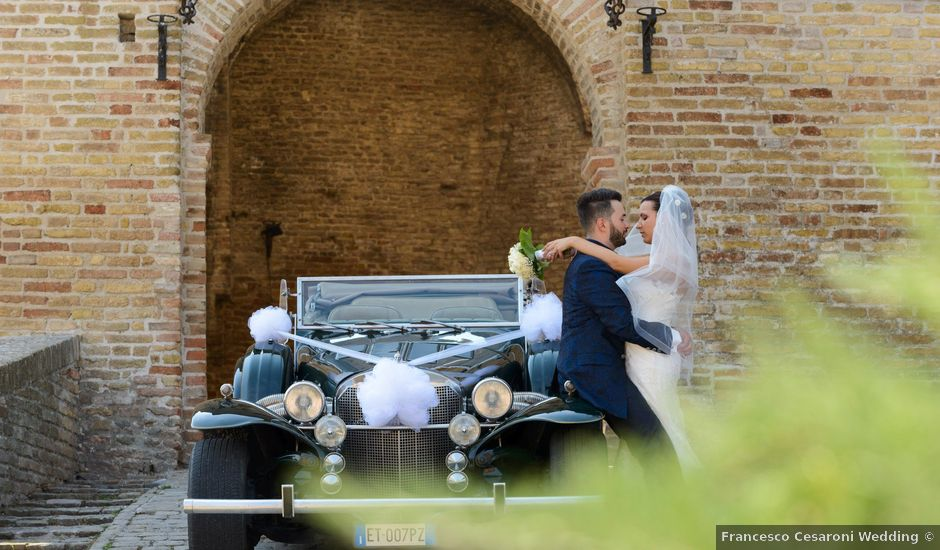 Il matrimonio di Diego e Sofia a Cupramontana, Ancona