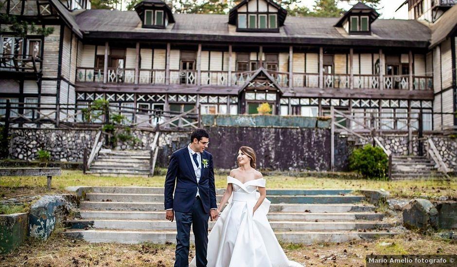 Il matrimonio di Carmelo e Sara a Taverna, Catanzaro