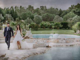 Le nozze di Grazia Pia e Marc