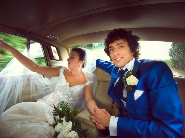 le nozze di Clarissa e Simone