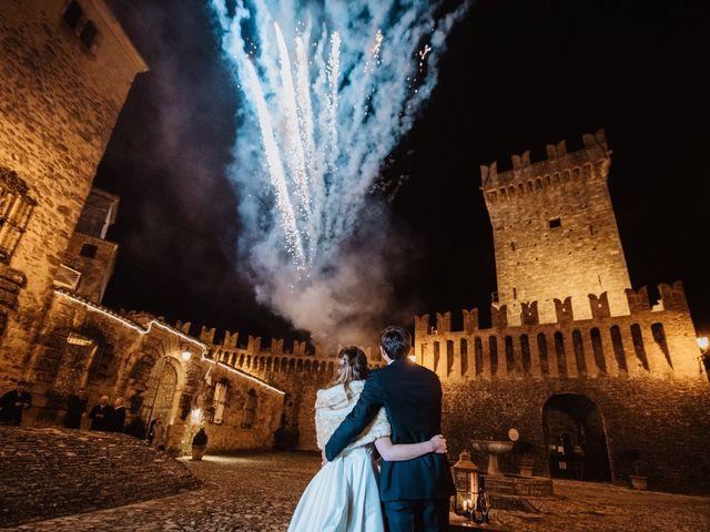 Il matrimonio di Luca e Shea a Vernasca, Piacenza 43