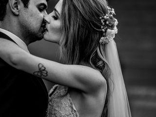 Le nozze di Anke e Junior