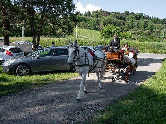 Il matrimonio di Stefano e Francesca a San Miniato, Pisa 5
