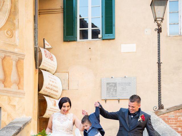 Il matrimonio di Stefano e Francesca a San Miniato, Pisa 6