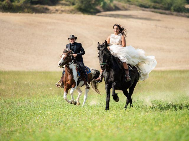 Il matrimonio di Stefano e Francesca a San Miniato, Pisa 20