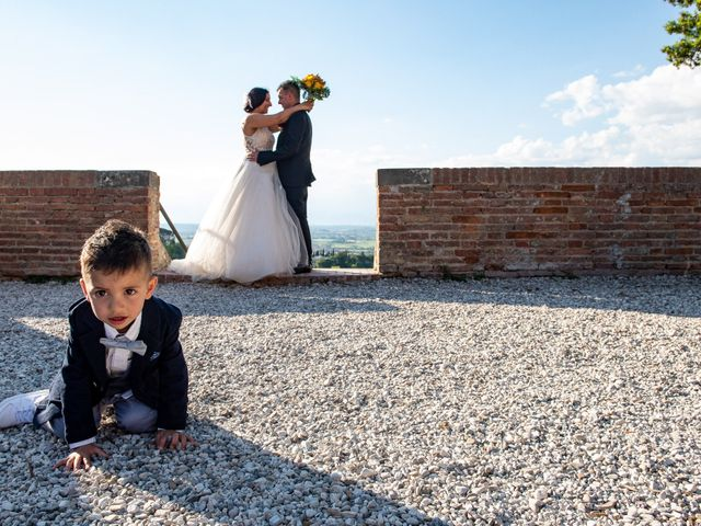 Il matrimonio di Stefano e Francesca a San Miniato, Pisa 22