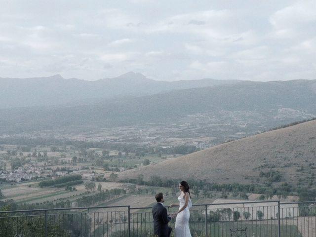Il matrimonio di Giorgio e Giulia a Ocre, L'Aquila 29
