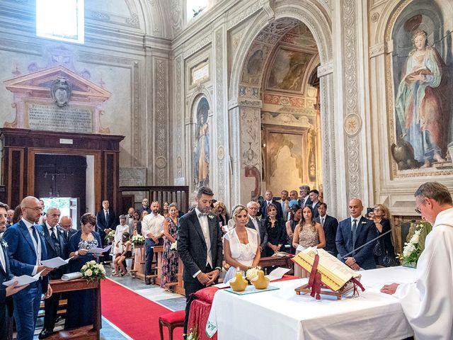 Il matrimonio di Luca e Michela a Rocca di Papa, Roma 14